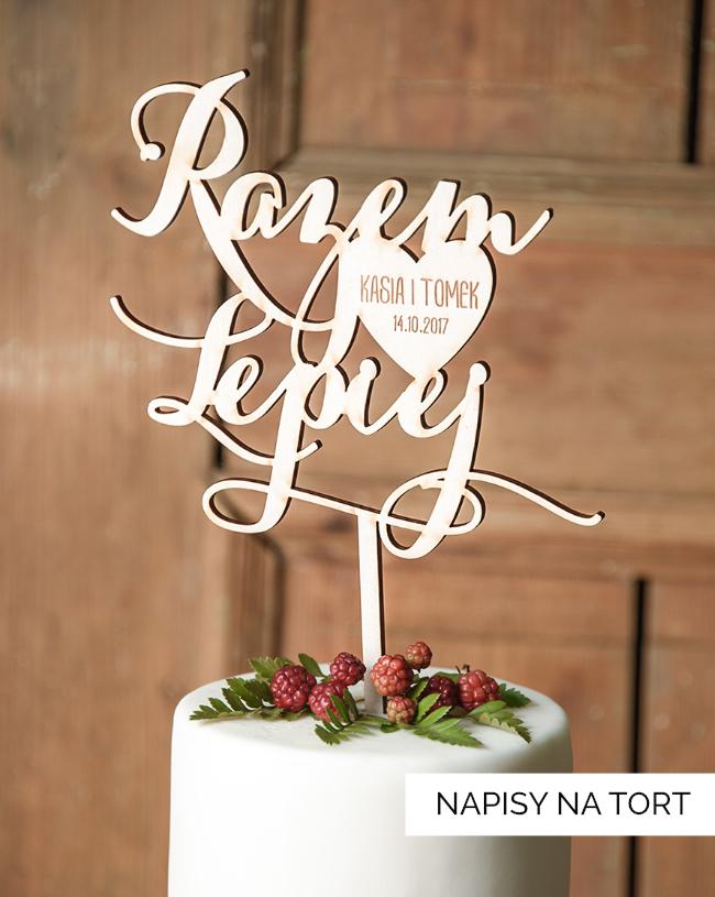 Napisy na torty